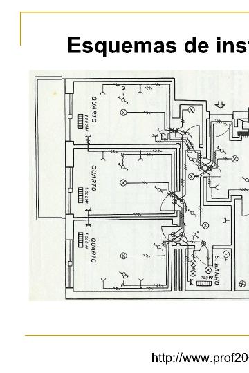esquemas de instala u00e7 u00f5es el u00e9ctricas